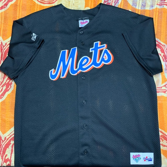 online store 957e6 1b776 Majestic New York Mets Jersey Size XL Vintage
